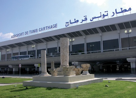 Photo de l'Aéroport International de Tunis Carthage - Site internet