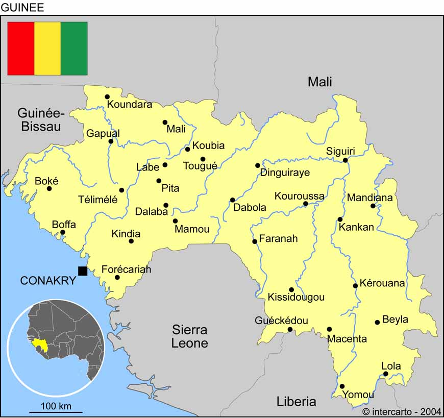 guinee geographie