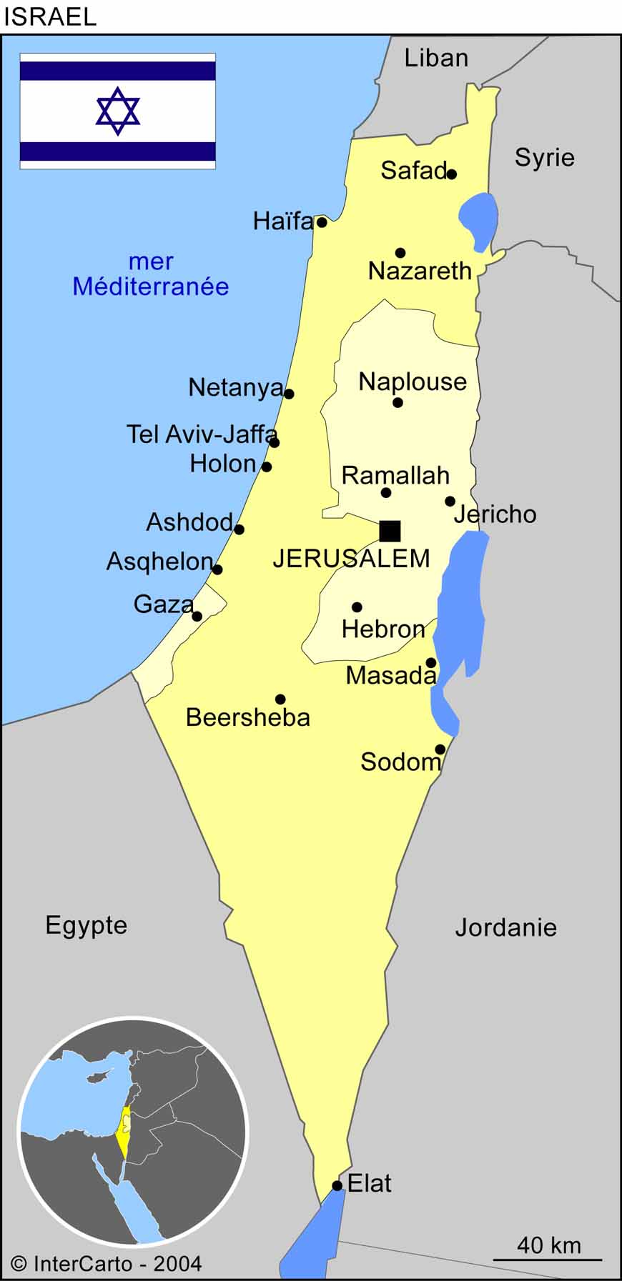carte-geographique-jerusalem