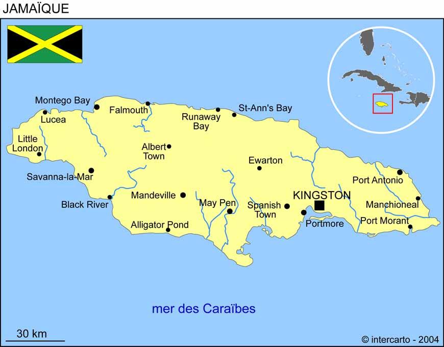 la-jamaique-sur-la-carte-du-monde