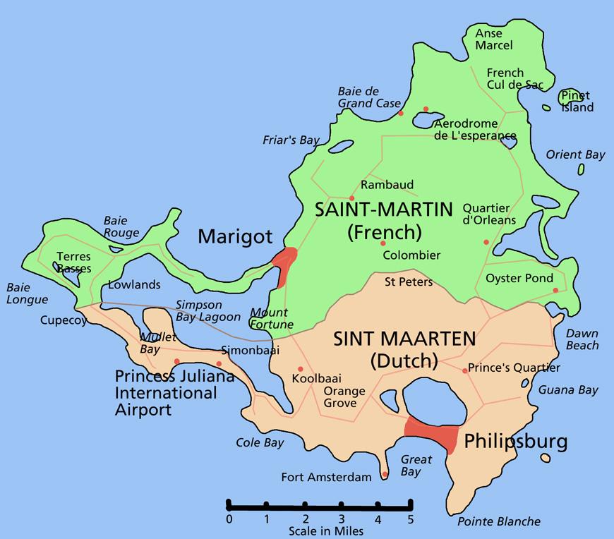 plan de saint martin